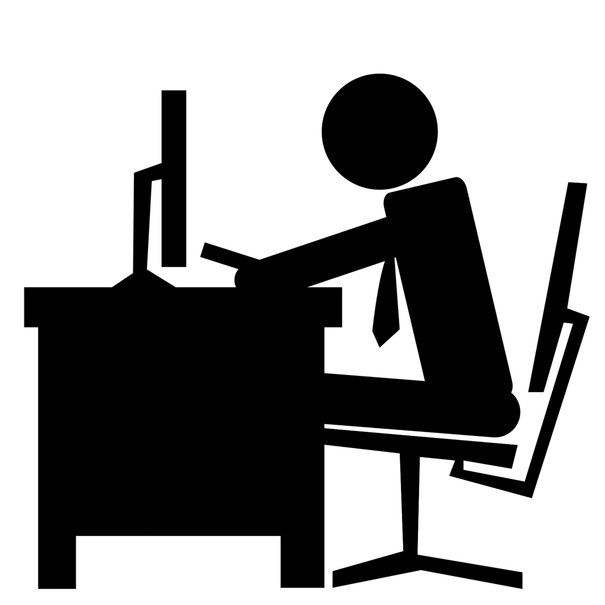 black-office-worker-icon_76222